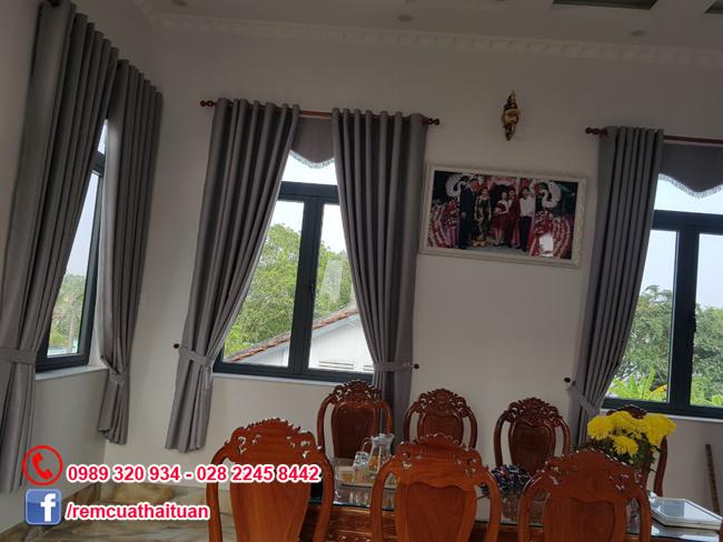 Lắp rèm cửa căn hộ quận Bình Tân