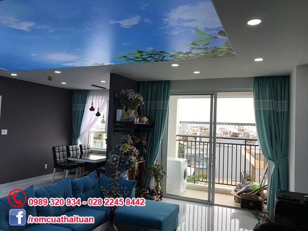 Lắp rèm cửa cho chung cư RichStar ở Tân Phú
