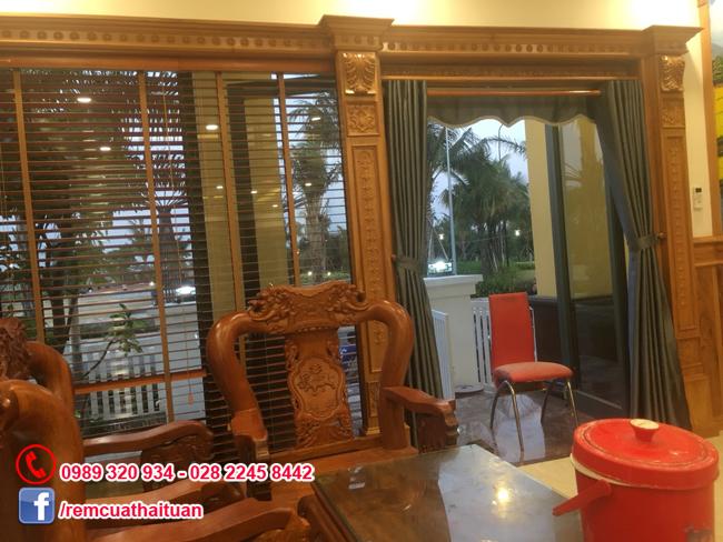 Rèm cửa nhà anh Thái khu dân cư cao cấp Vườn Lài quận Tân Phú