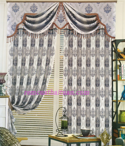 Rèm vải gấm cao cấp 02