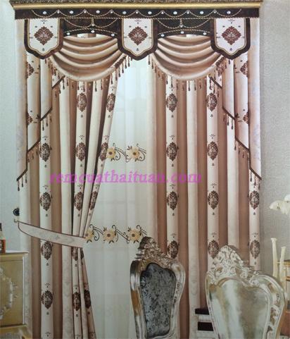 Rèm vải gấm cao cấp 06