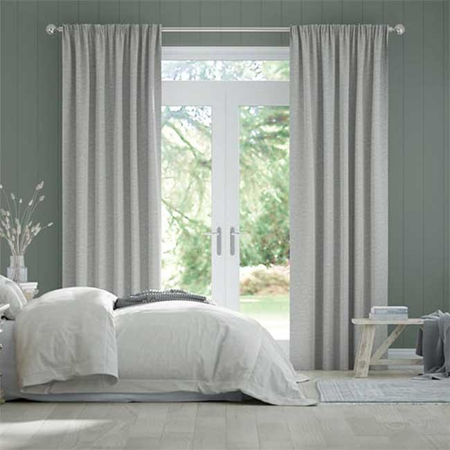 Màn vải đẹp giá rẻ chống nắng cho phòng ngủ hiện đại