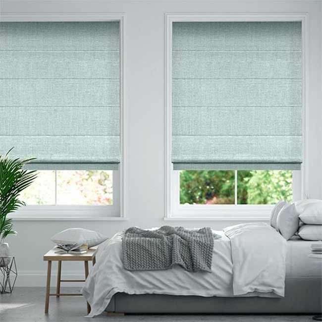 Rèm roman cửa sổ phòng ngủ đẹp chống nắng